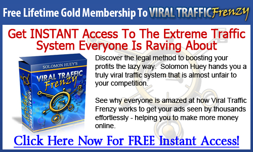 login1 Solomon Huey Launches Viral Traffic Freedom